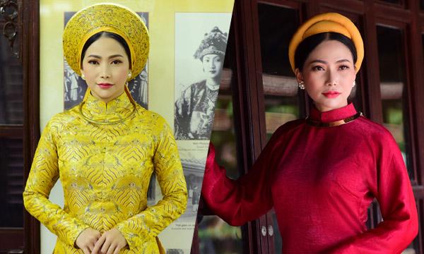 Người đẹp Trang Thảo rạng rỡ áo dài trong ngày Quốc tế Phụ nữ