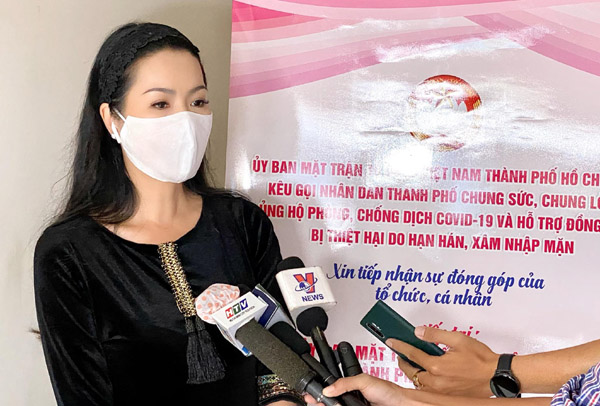 NSƯT Trịnh Kim Chi kêu gọi mọi người chung tay ủng hộ người dân miền Tây