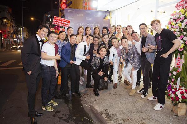 Rừng sao chúc mừng Nam Phong khai trương cửa hàng thời trang Coco & Papa