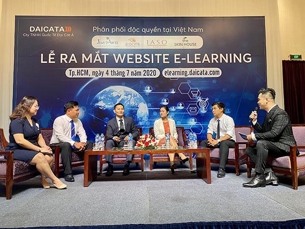Ra mắt Web E-Learning của Công ty Đại Cát Á