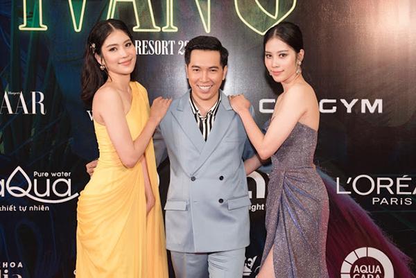 Nam Anh - Nam Em hút mắt trên thảm đỏ show thời trang của NTK Ivan Trần