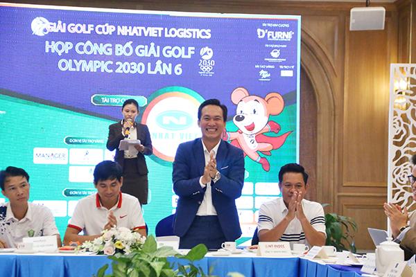 """Lễ công bố bộ môn golf """"GIẢI GOLF CÚP NHẬT VIỆT LOGESTICS"""""""