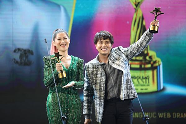 Đỗ Thị Hà, Tiểu Vy, Lương Thùy Linh cùng dàn Á hậu đọ sắc trong vai trò nghệ sĩ trao giải Ngôi Sao Xanh 2020