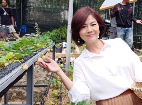 Hồ Lệ Thu về nước tham gia phim 'Thả Lưới Bắt Em' của đạo diễn Quyền Lộc