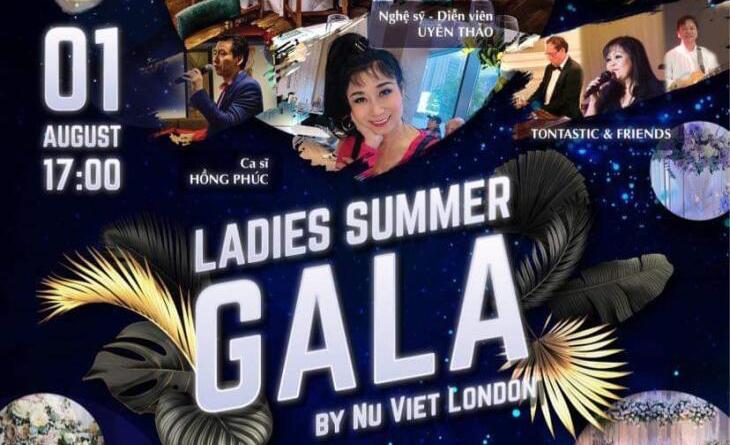Uyên Thảo tham gia biểu diễn 'Đêm hội mùa hè – UK Ladies Summer GALA 2021' tại thủ đô London, Anh Quốc.