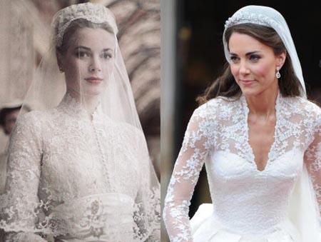 Vẻ đẹp kinh điển của những chiếc váy cưới từng gây sốt