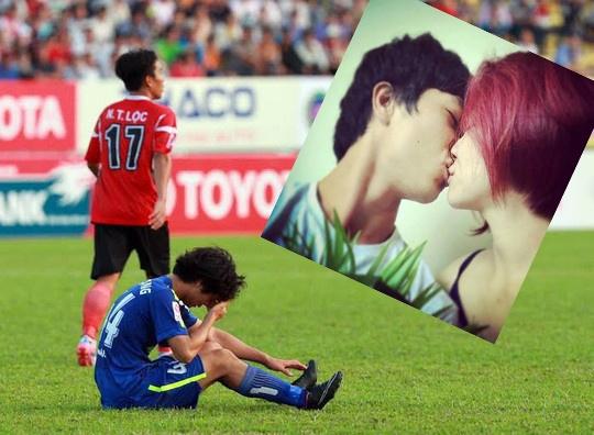 Công Phượng sốc vì lộ ảnh hôn Hòa Minzy