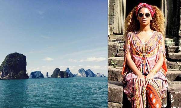 Fan xôn xao vì Beyoncé đang ở Vịnh Hạ Long