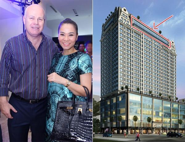 Những căn penthouse triệu đô của sao Việt