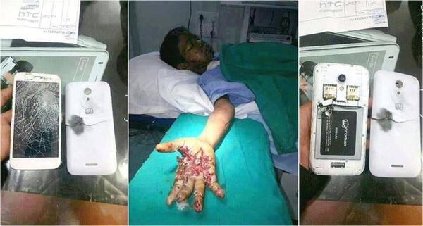 Một thanh niên chết vì nghe điện thoại khi sạc pin