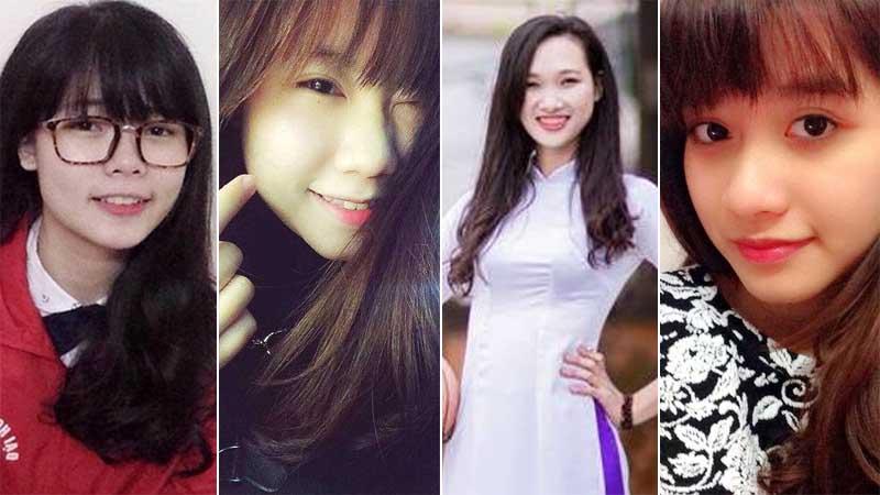 4 nữ sinh xinh nổi bật ở ngôi trường hiếm phái nữ