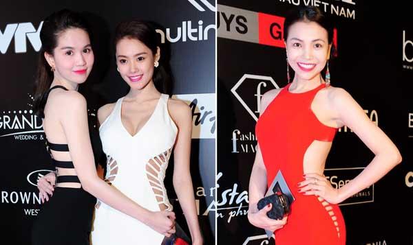 Dàn mỹ nhân Việt chuộng mốt váy cut-out sexy trên thảm đỏ