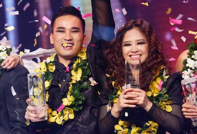 Hoàng Yến - Hà Duy đăng quang Cặp đôi hoàn hảo