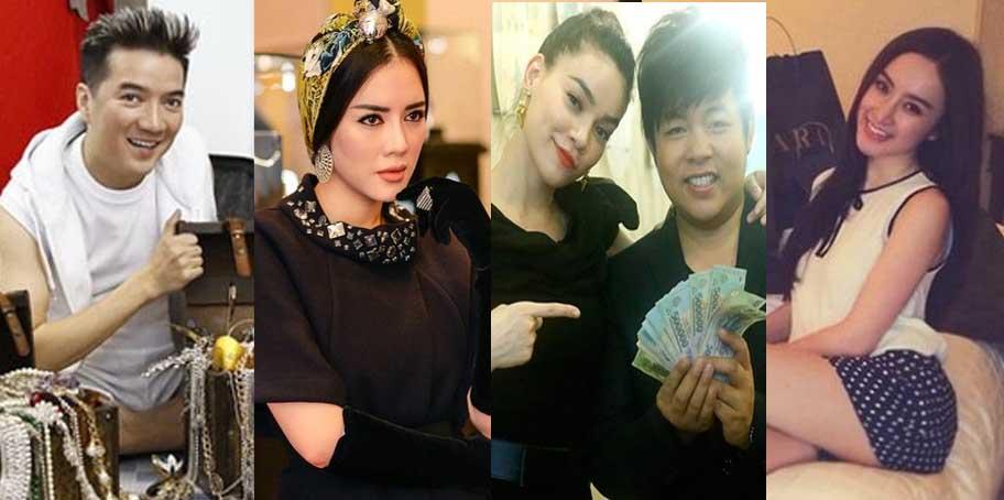 Người thích khoe của số 1 trong làng showbiz Việt là ai?