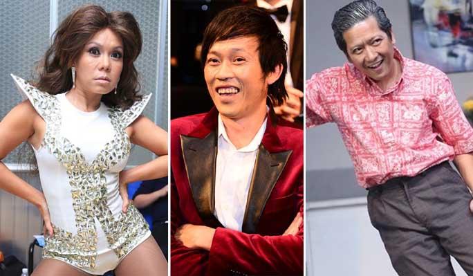 Những diễn viên hài sáng giá của giải trí Việt năm 2014