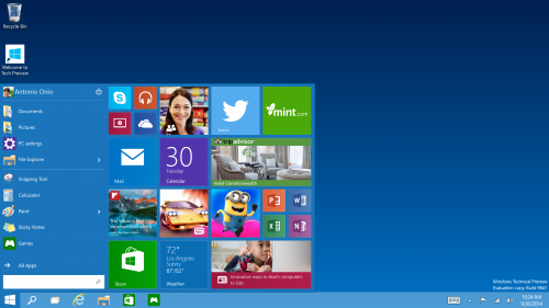 Windows 10 chính thức ra mắt, hợp nhất desktop và mobile
