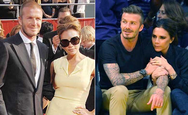 Victoria - David Beckham - cặp đôi sành điệu
