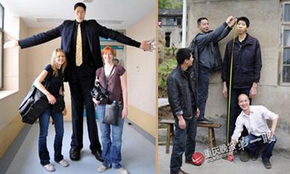 Những người có chiều cao 'khủng' nhất Trung Quốc
