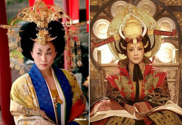 10 tạo hình kỳ dị trong phim cổ trang Hoa ngữ