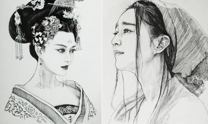 Ảnh chân dung tuyệt đẹp về nhân vật trong 'Tân Võ Tắc Thiên'