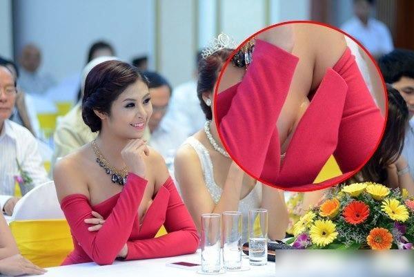 Người đẹp lên báo Thái vì ăn mặc phản cảm