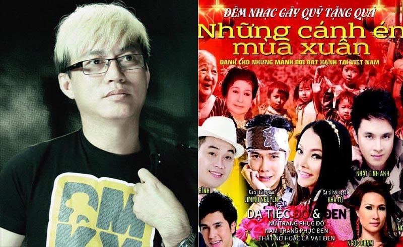 NTK Tommy Nguyễn đưa Hoa Xuân tới Dạ Vũ Những Cánh Én Mùa Xuân