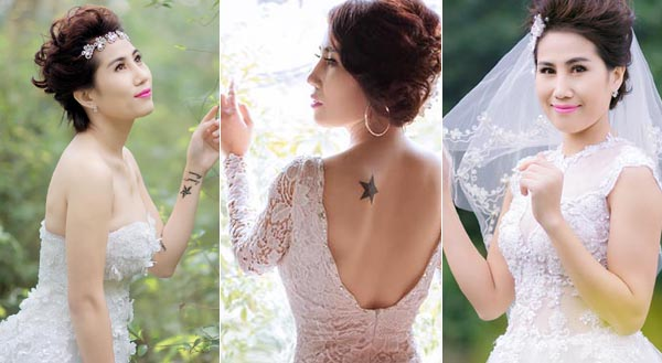 Quý cô kiêu sa với váy dạ hội trắng của Áo cưới Tommy Nguyễn