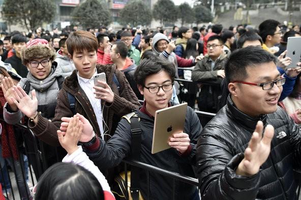 Trung Quốc - đất nước đang phát cuồng với iPhone