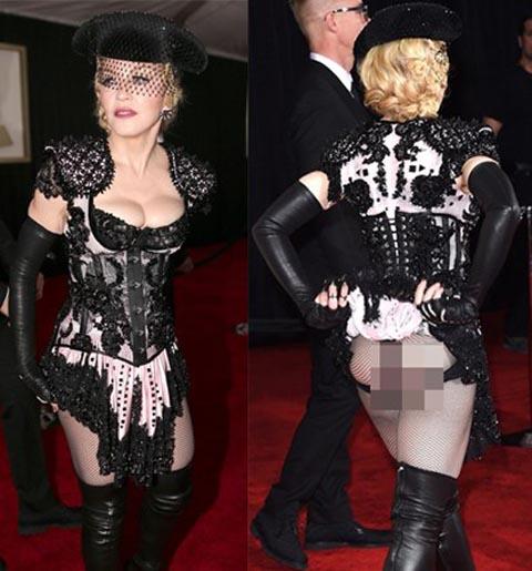 Váy áo hở hang, quái đản tràn ngập thảm đỏ Grammy