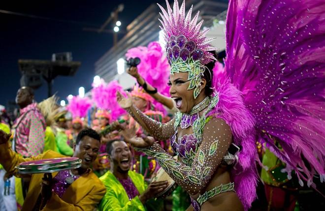 Lễ hội carnival hoành tráng nhất trái đất
