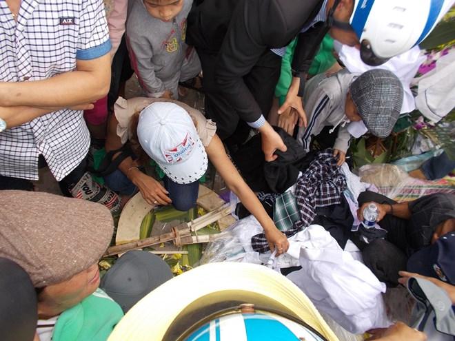 Người dân tranh nhau di vật của ông Nguyễn Bá Thanh