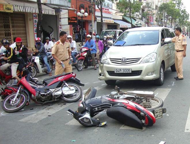 19 người tử vong do tai nạn trong ngày mùng 1 Tết