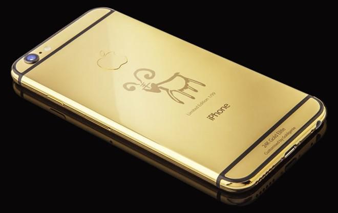 iPhone 6 mạ vàng phiên bản Ất Mùi 2015