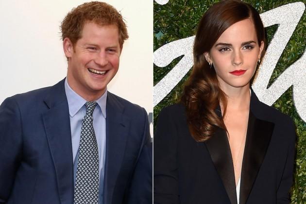 Rộ tin đồn Emma Watson hẹn hò Hoàng tử Harry