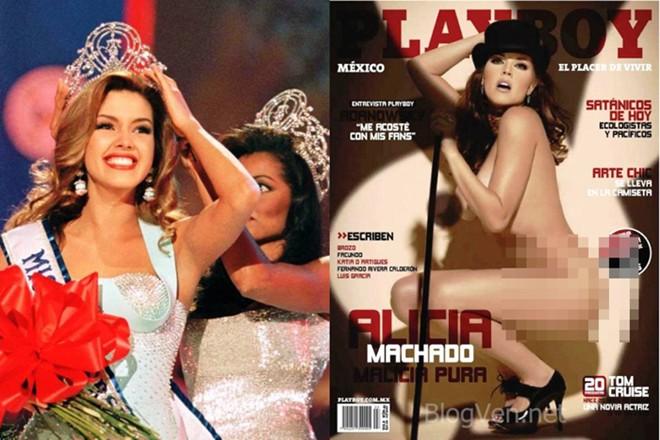 Các Hoa hậu Hoàn vũ từng chụp ảnh nóng