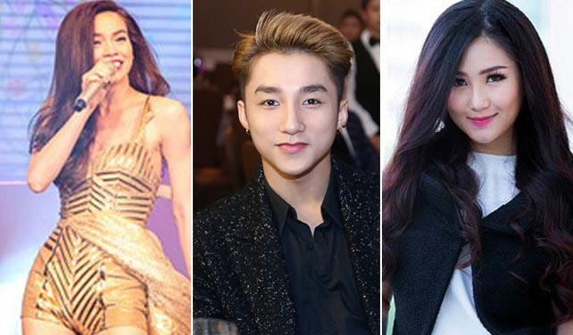Ba ca sĩ Việt đình đám 'hở ra là bị soi'