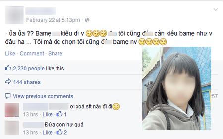Đau lòng nữ sinh 10X lên facebook hỗn láo với ba mẹ
