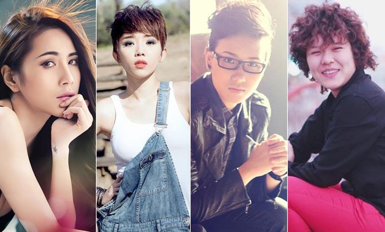 Điểm danh bốn cô 'Tiên' xinh đẹp, tài năng của Vpop