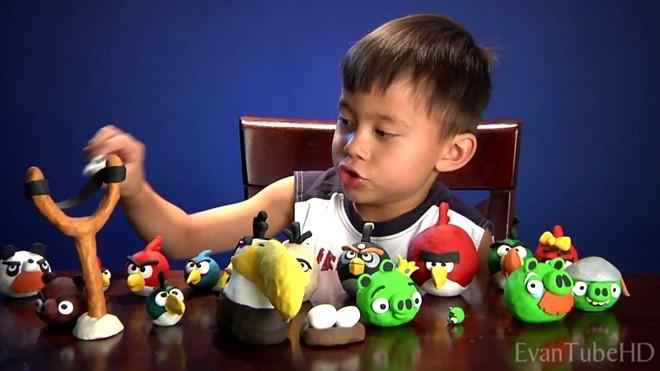 Cậu bé 8 tuổi trở nên giàu có nhờ Angry Birds