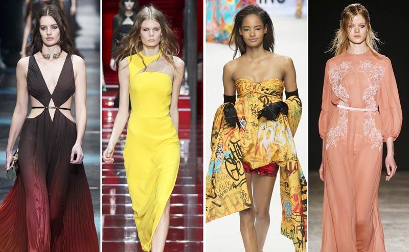 Những mẫu váy sexy bỏng mắt từ sàn diễn Milan