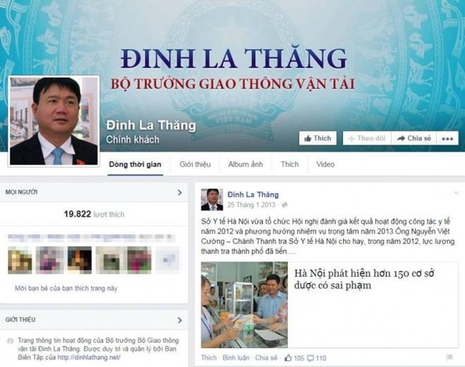 Tràn lan Facebook giả mạo chính khách Việt Nam