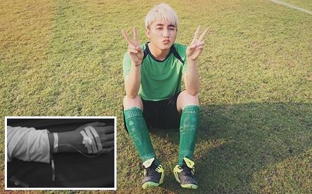 Fan lo lắng khi Sơn Tùng M-TP đăng ảnh bàn tay cắm kim truyền