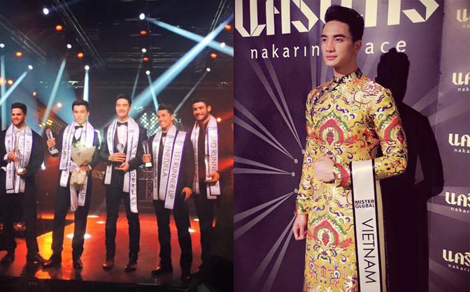 Chàng trai Thanh Hóa bất ngờ đăng quang 'Mister Global 2015'