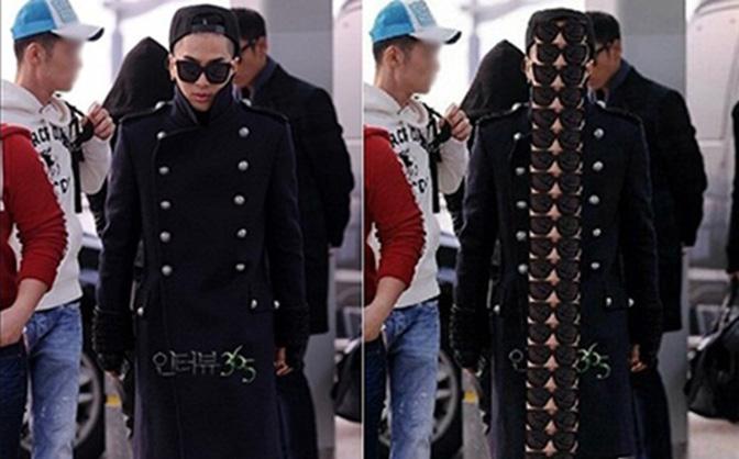 Taeyang (Big Bang) bị tung bằng chứng chỉ cao... 1m50