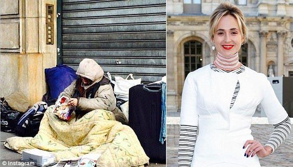 BTV nổi tiếng của Vogue bị lên án vì đăng ảnh người vô gia cư lên Instagram