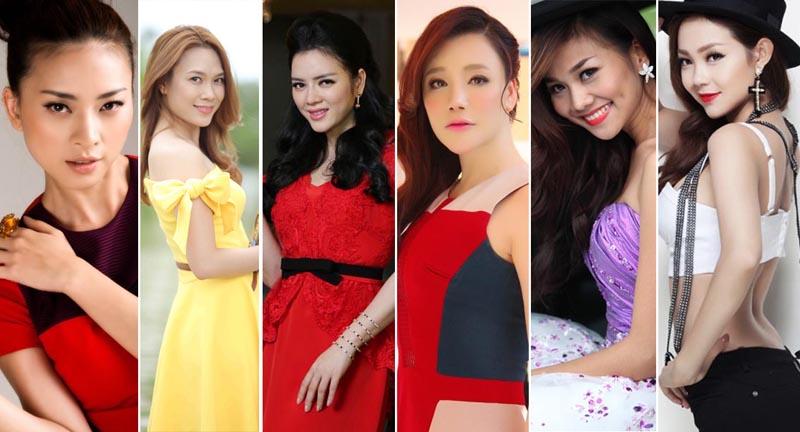 6 quý cô độc thân sáng giá của showbiz Việt
