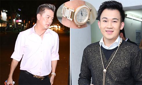 Đàm Vĩnh Hưng - Dương Triệu Vũ đeo đồng hồ đôi giá gần 4 tỷ
