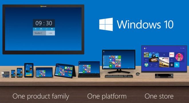 Windows 10 ra mắt vào mùa hè tại hơn 190 quốc gia