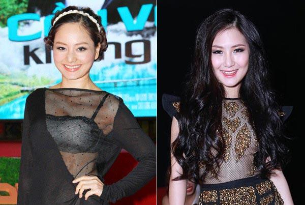 Sao Việt mất điểm vì thời trang xuyên thấu