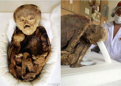 Phát hiện xác ướp em bé thời tiền Inca tại Peru